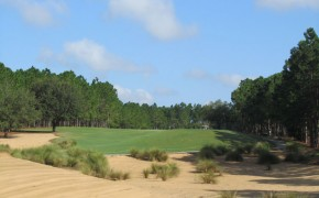 Highlands Reserve Golf Hole From Bunker